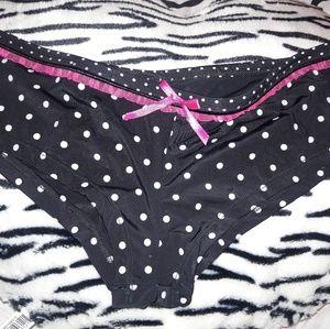 Macy's, boy shorts-cheekie, polka dot.